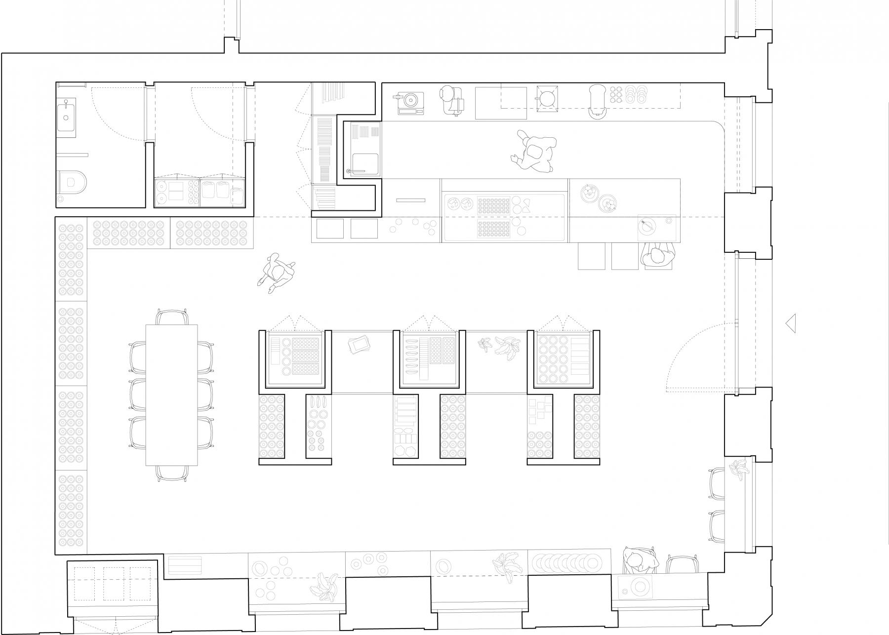 dc ad comida independente architecture plan
