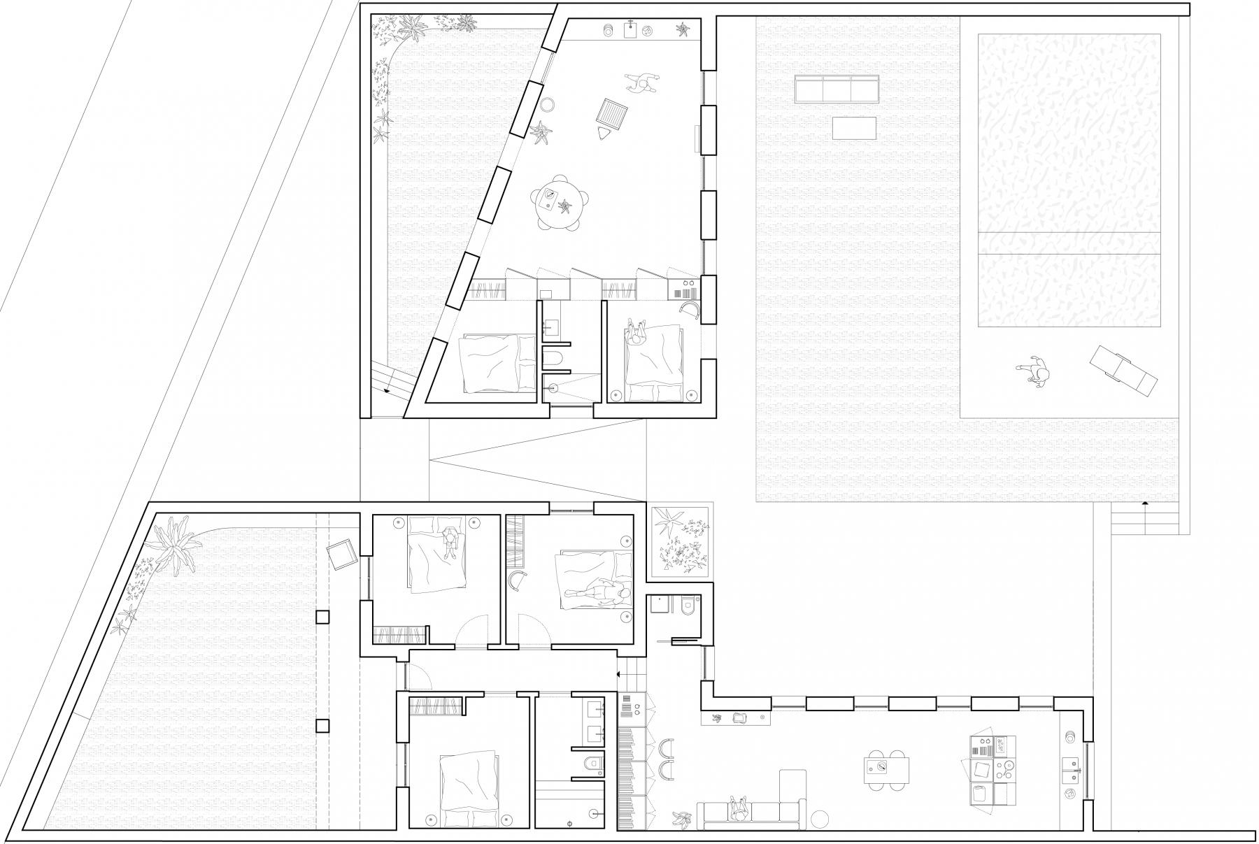 dc ad costa brava architecture plan