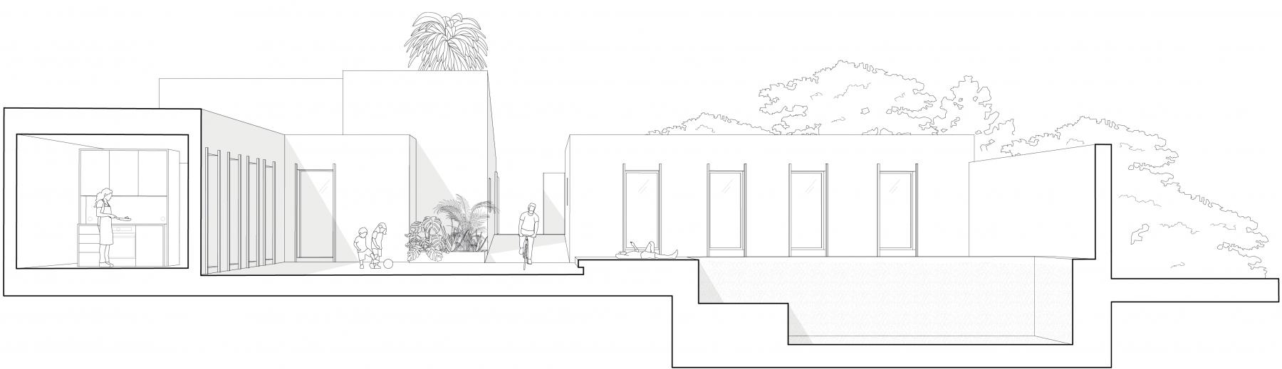 dc ad costa brava architecture section